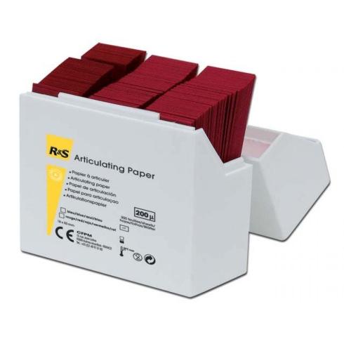Papier à articuler - La boîte de 300 feuilles rouges