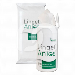Linget' - La boîte distributrice vide + 6 recharges de 120 lingettes