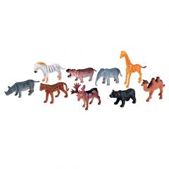 Set d'animaux - La boîte de 100 animaux du zoo