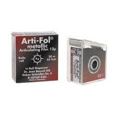 Arti-Fol métallique - Le distributeur en rouleau double face noir/rouge Bk28