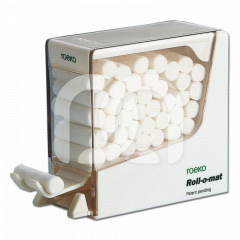 Roll-O-Mat - Le distributeur blanc