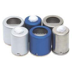Pots à coton - Le pot en Inox