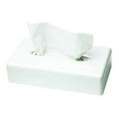 Distributeur de mouchoirs Tork - Le distributeur en plastique blanc