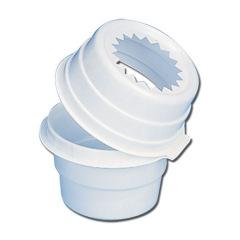 Pots à déchets à usage unique - La boîte de 50 pots à déchets