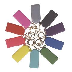 Boîtes à élastiques porte-clés - Assortiment lumineux