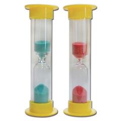Sabliers - La boîte de 72 sabliers couleurs assorties