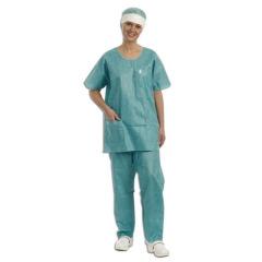 Pyjamas de bloc verts Touch Barrier - La boîte de 45 chemises