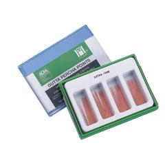 Cônes de gutta percha conventionnelles - La boîte de 100 ou 200 Cônes
