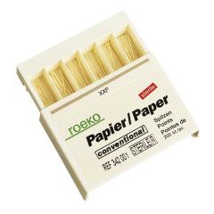 Cônes de papier conventionnelles - La boîte de 120 Cônes