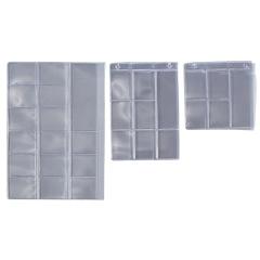 Pochettes porte-films compartimentées - La boîte de 50 feuilles-pochettes