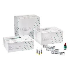 Equia - La boîte de 50 capsules + 1 flacon de 4 ml d'Equia Coat