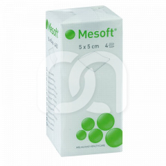 Compresses non tissées Mesoft - Le lot de 100 compresses