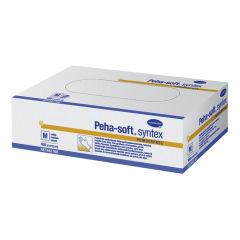 Gants en vinyle sans poudre Peha-Soft Syntex PF - La boîte de 100 gants