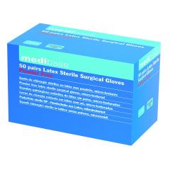 Gants stériles non poudrés - La boîte de 50 paires