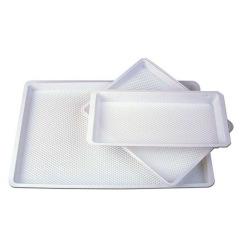 Plateaux sans compartiments - Le carton de 400 plateaux