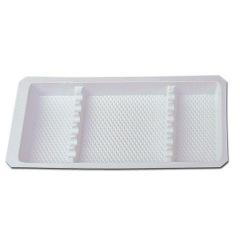 Plateaux avec compartiments - Le carton de 400 plateaux 28 x 18 cm