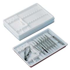 Plateaux avec compartiments - Le carton de 400 Unitrays