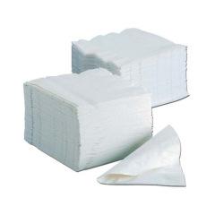 Serviettes en papier - Le lot de 4800 serviettes blanches