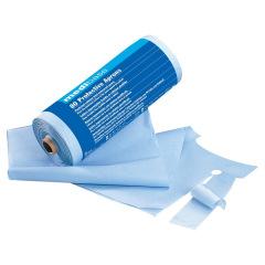 Tabliers en papier plastifié - Le rouleau de 80 tabliers