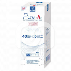 Compresses stériles LCH - Les 40 blisters de 5 compresses