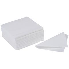 Serviettes blanches 30X30 cm Access - Le paquet de 4000 serviettes
