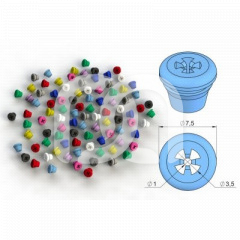Plugs silicone - Le lot de 8 plugs