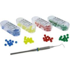 Bague en silicone - La boite de 50 bagues